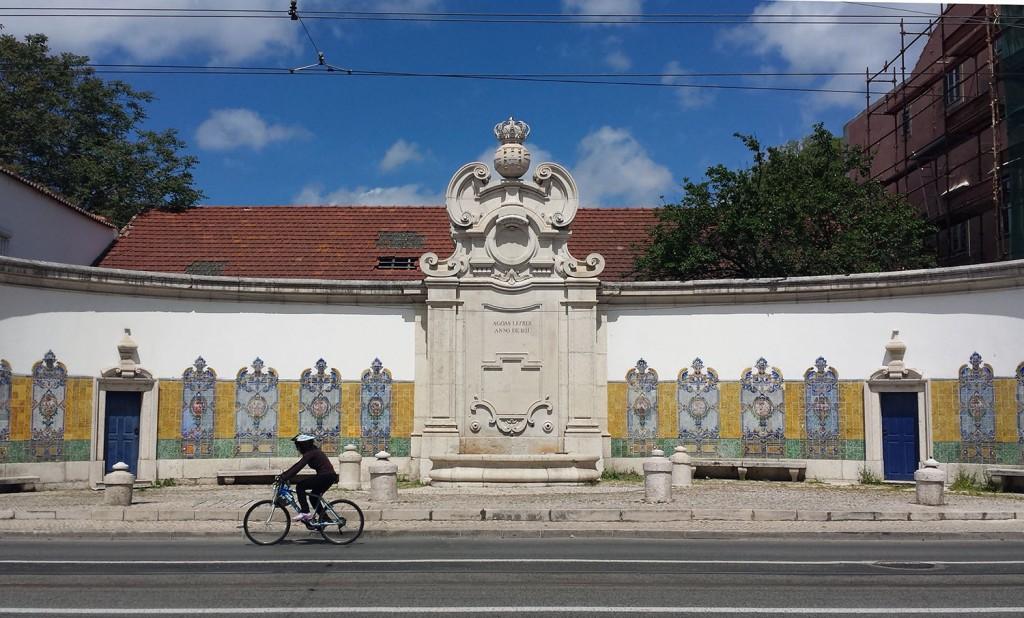 Radfahren in Lissabon