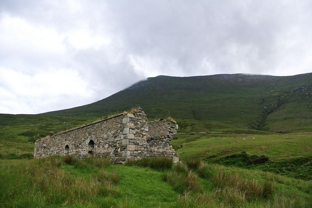 Ruine auf Achill Island
