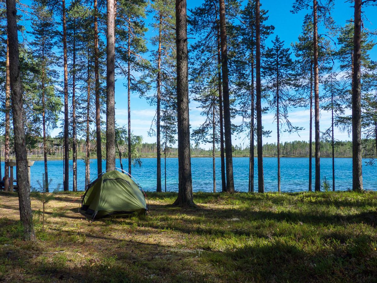 WandernKarelien-Zelten