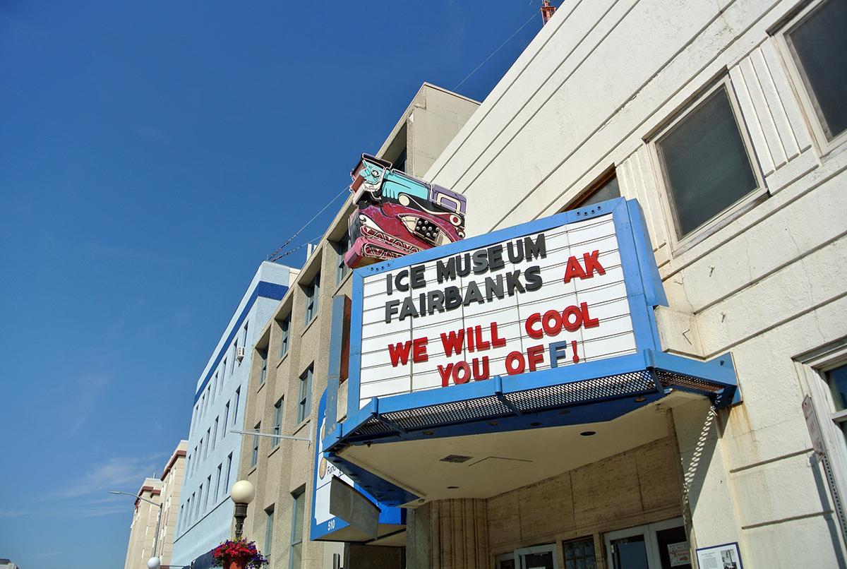 Das Ice Museum in Fairbanks