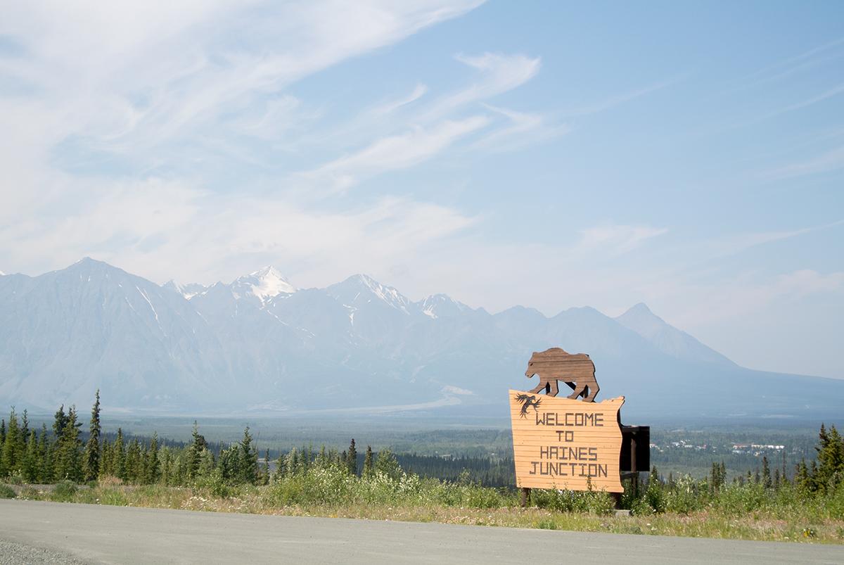 In Haines Junction, Yukon