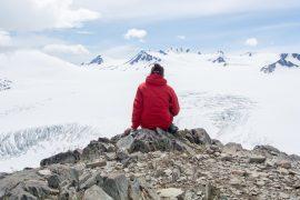 Das Meer aus Eis – Wanderung zum Harding Icefield