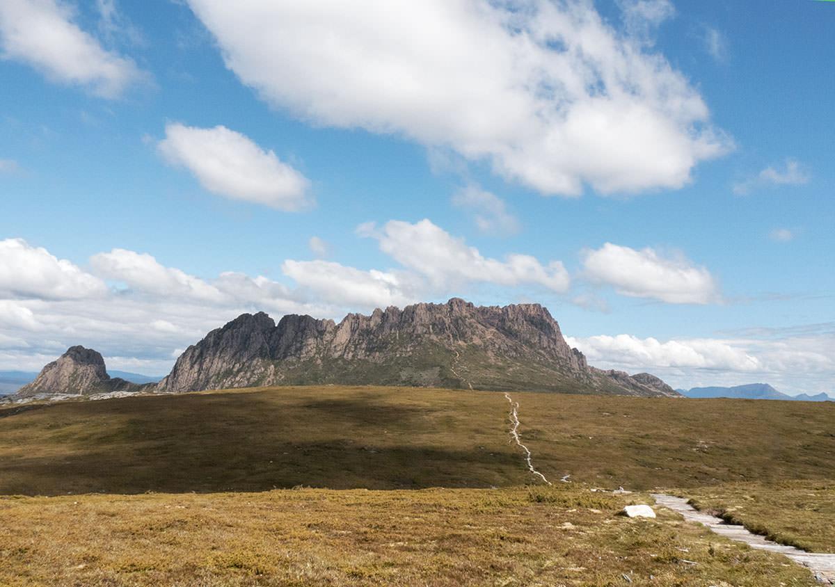 Blick auf den Cradle Mountain