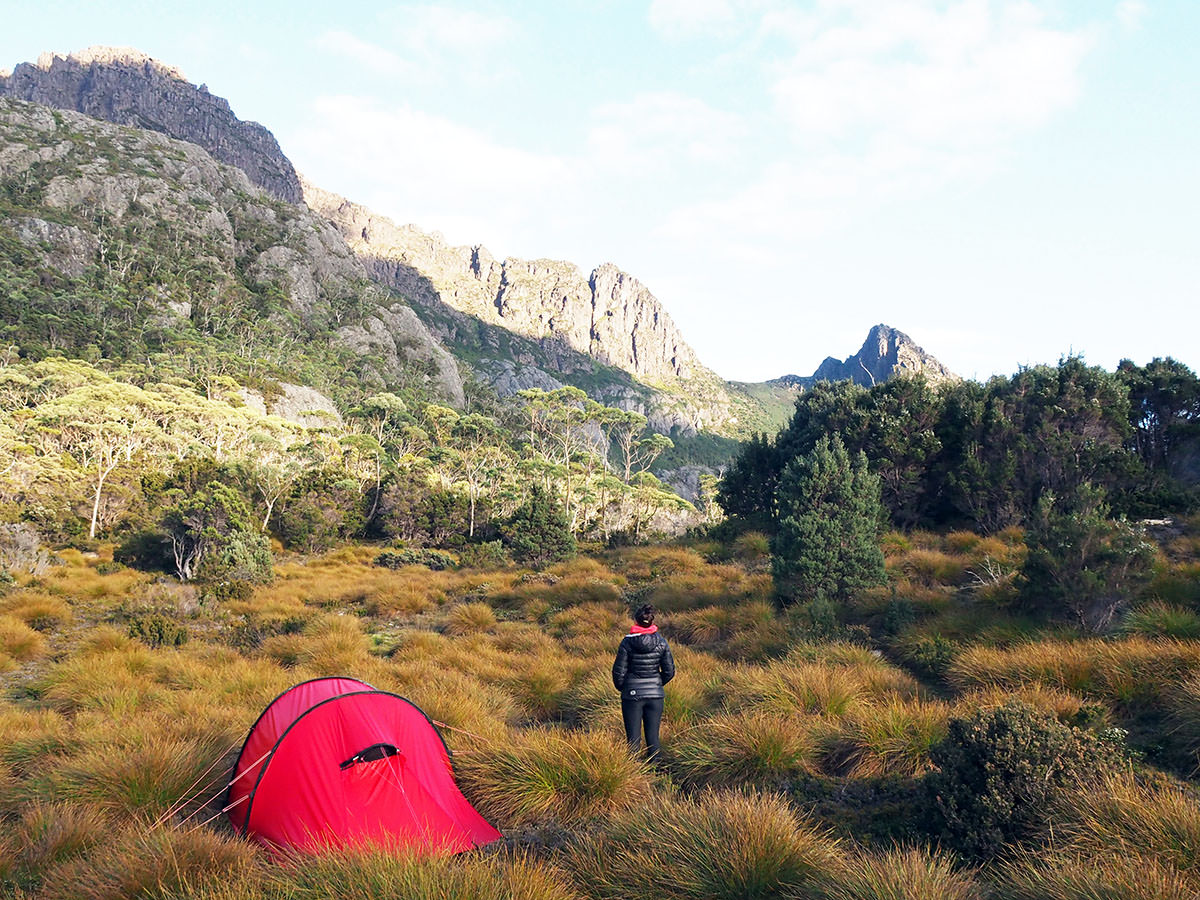 Trekkingtour im Cradle Mountain Nationalpark in Tasmanien