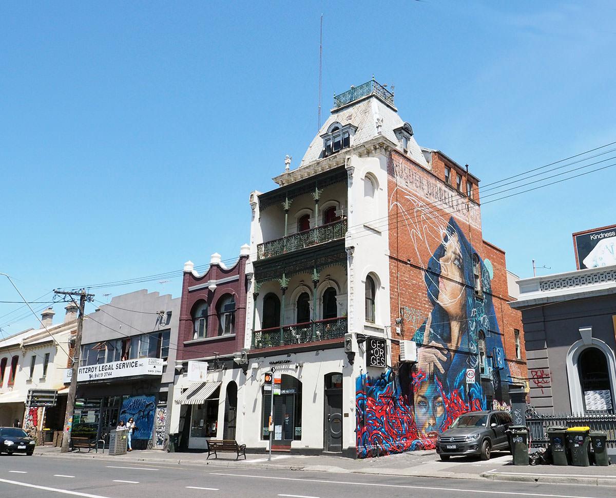 Hipsterviertel Fitzroy in Melbourne