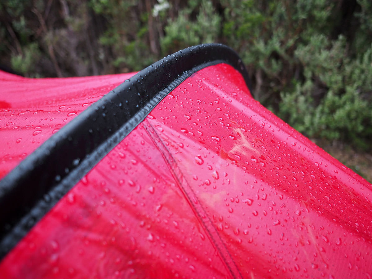 Das Hilleberg Nammatj 3 im Regen