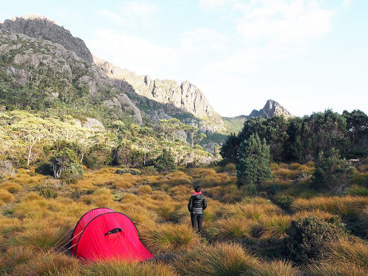 Das Hilleberg Nammatj 3 in Tasmanien
