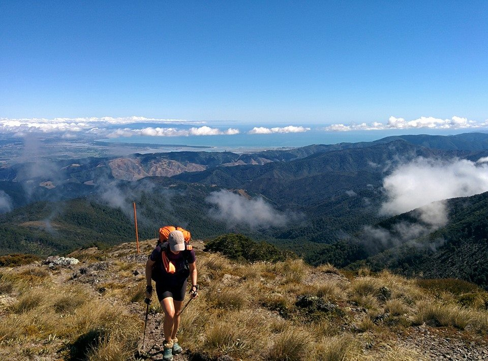 In den Bergen Neuseelands auf dem Te Araroa Trail
