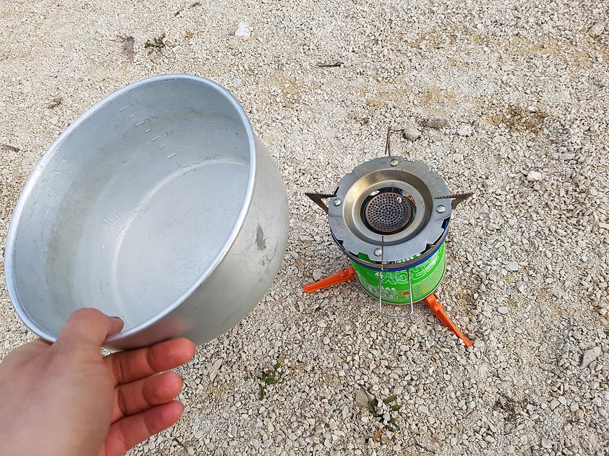 Praktisch: Der Pot Support von Jetboil