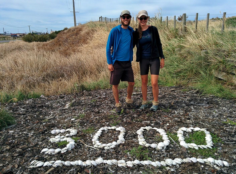 Geschafft! Nadine und Philippe haben den Te Araroa Trail in Neuseeland komplett durchlaufen