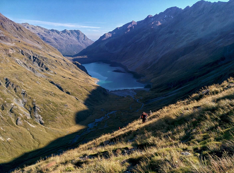 Nadine und Philippe von www.gustofrenzy.de auf dem Te Araroa Trail in Neuseeland