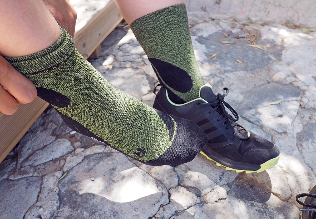 DIe CEP Outdoor Merino Mid-Cut Socks im Test