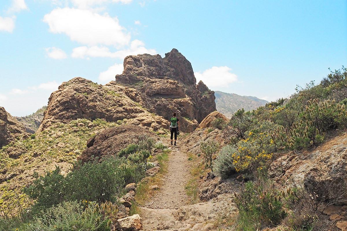 Wandern zum Wolkenfels auf Gran Canaria