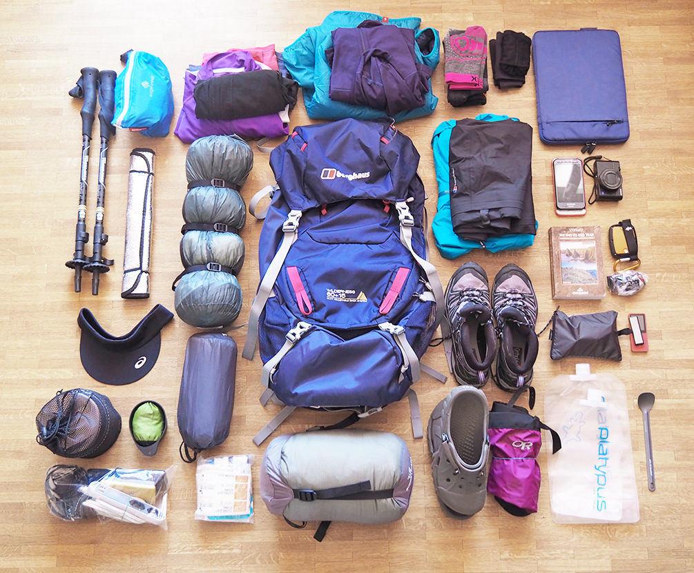 Packliste Fernwanderung