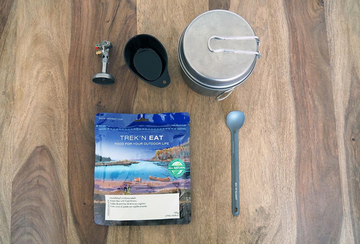 Packliste Fernwanderung: Kochen