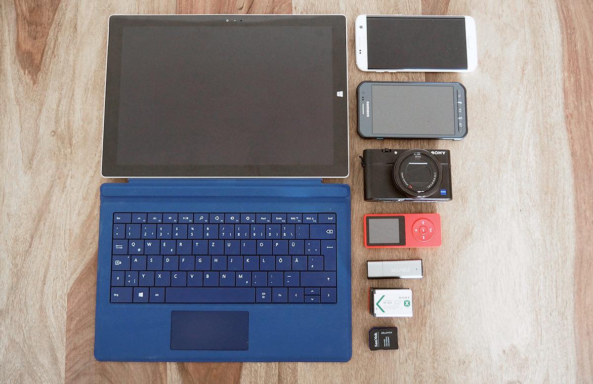 Packliste Fernwanderung: Technik