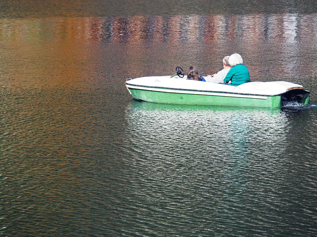Bootfahren auf dem Hintersee