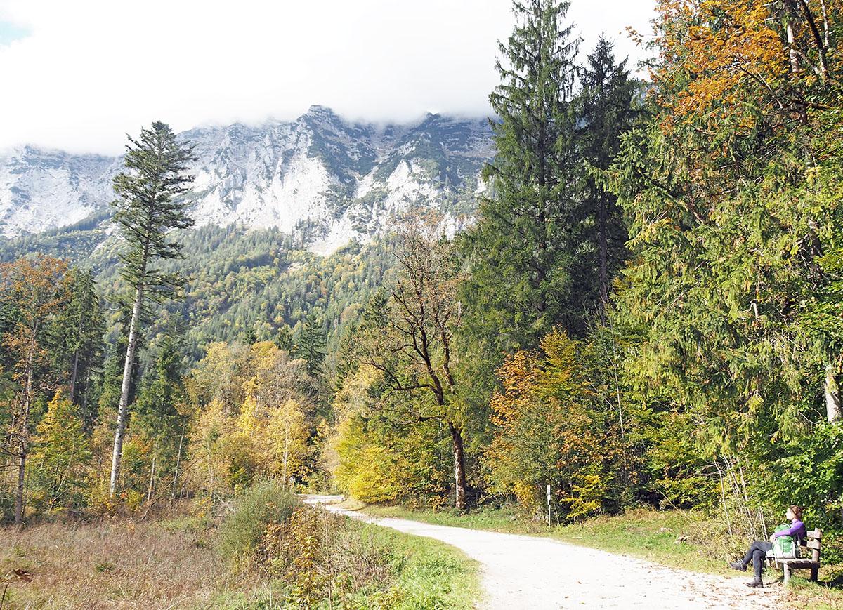 Der Hintersee im Herbst