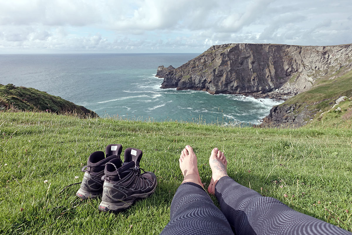Wanderschuhe für den South West Coast Path
