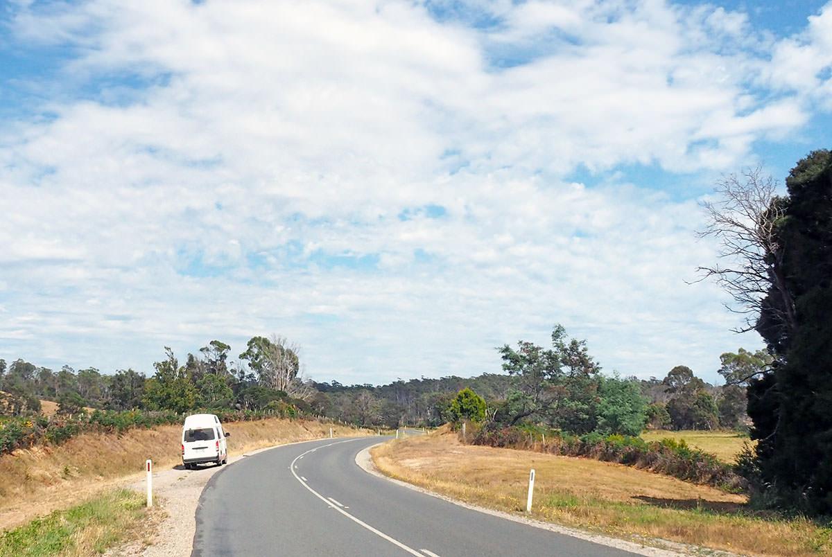 Tasmanien Roadtrip mit Camper