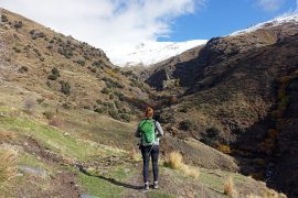 sierra nevada andalusien im winter