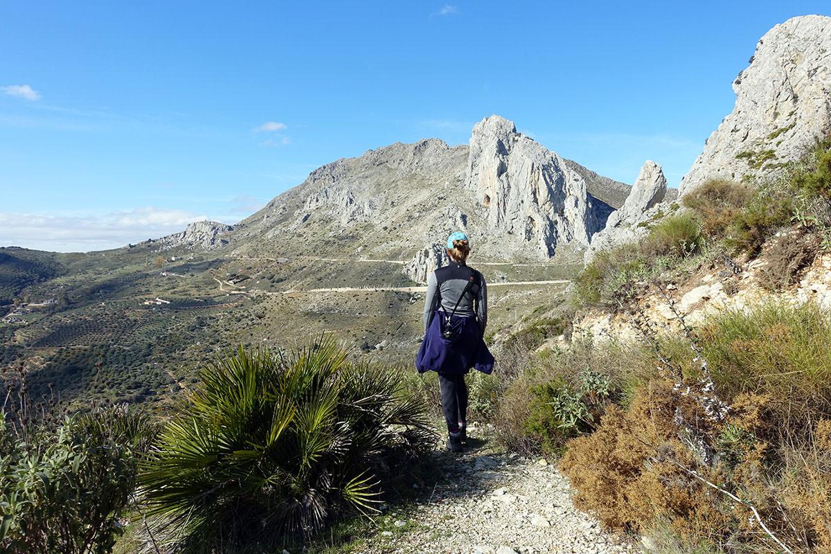 Wandern in Andalusien im Winter
