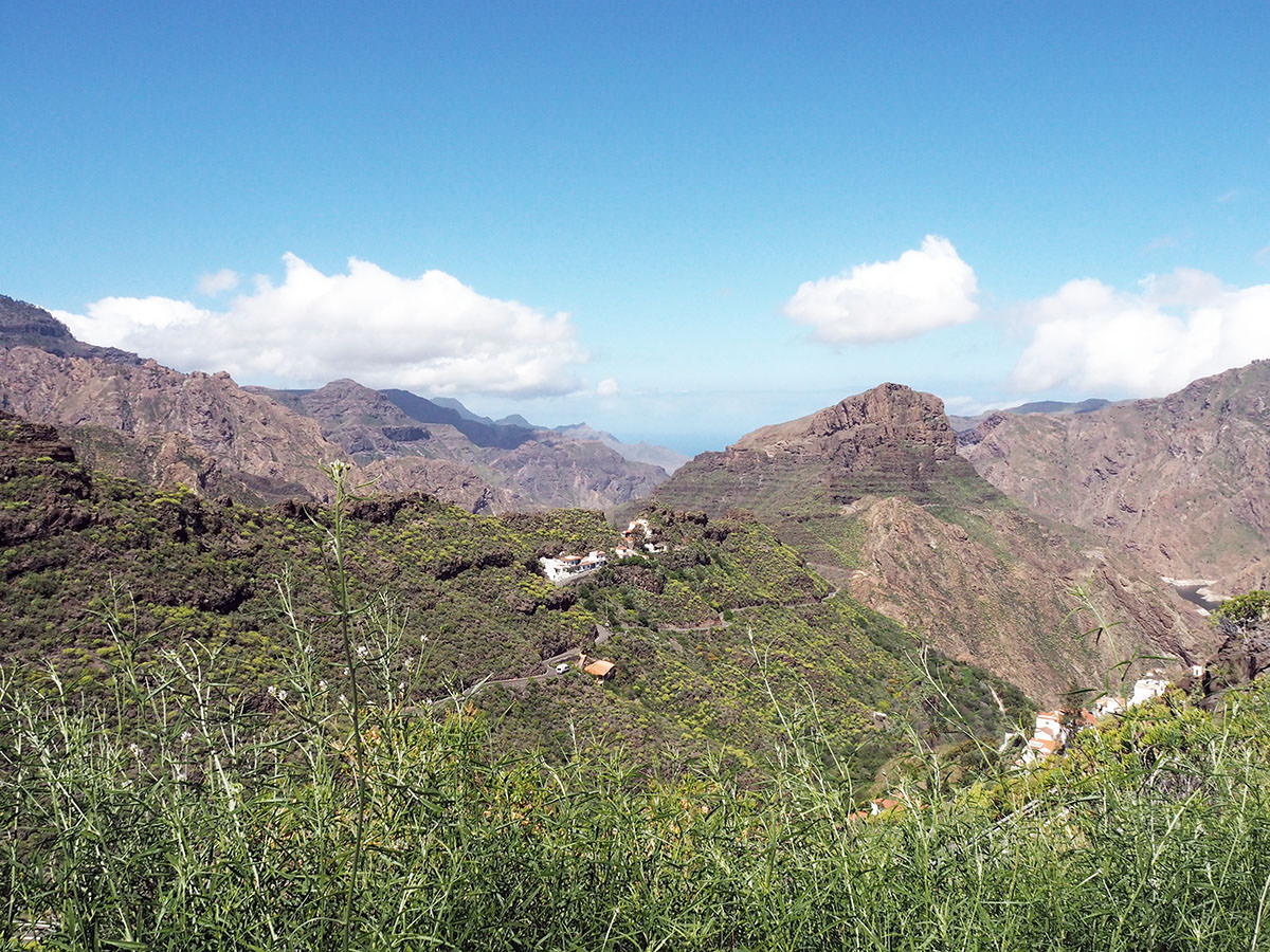Bergdorf auf Gran Canaria