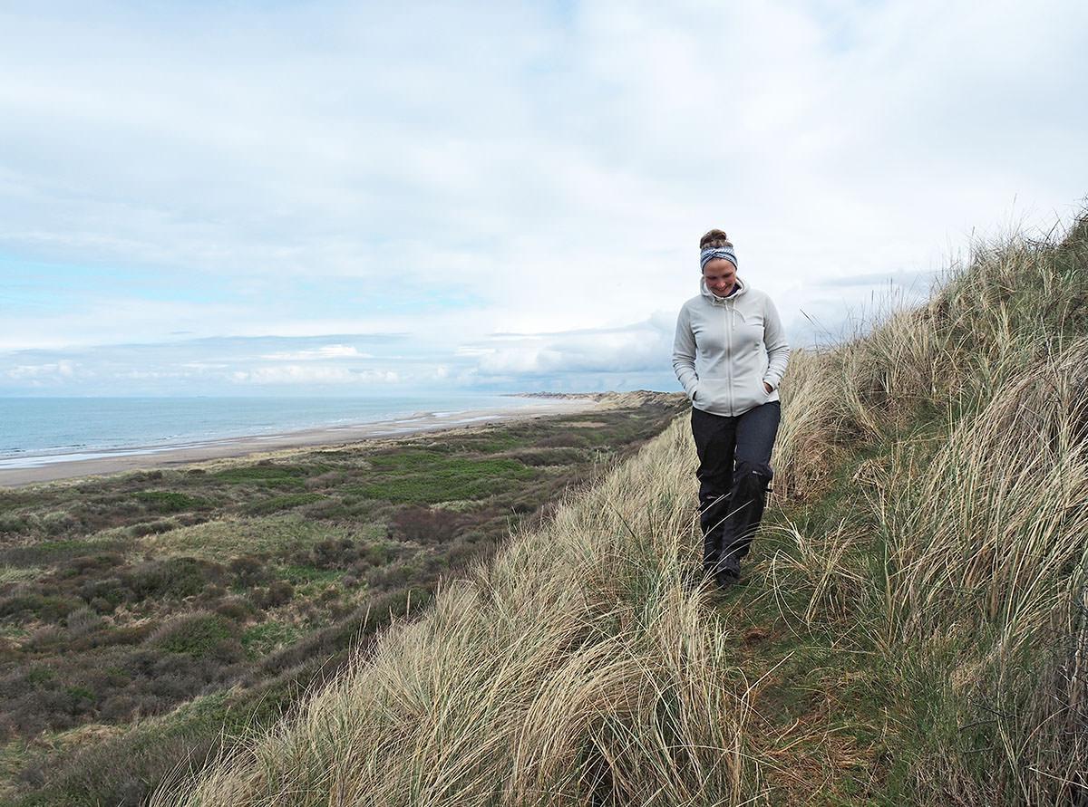 Wandern an der dänischen Küste