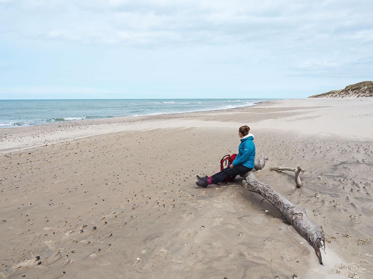 Wandern auf dem Nordseewanderweg in Dänemark
