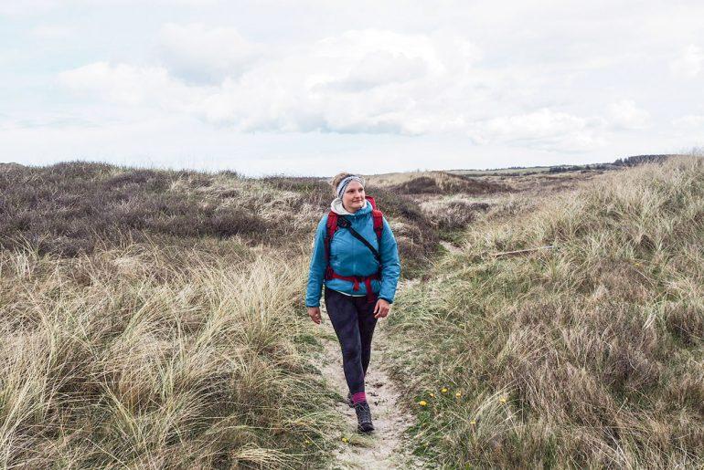 Wandern in Dänemark auf dem Nordseewanderweg