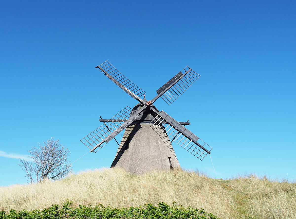 Windmühle in Skagen