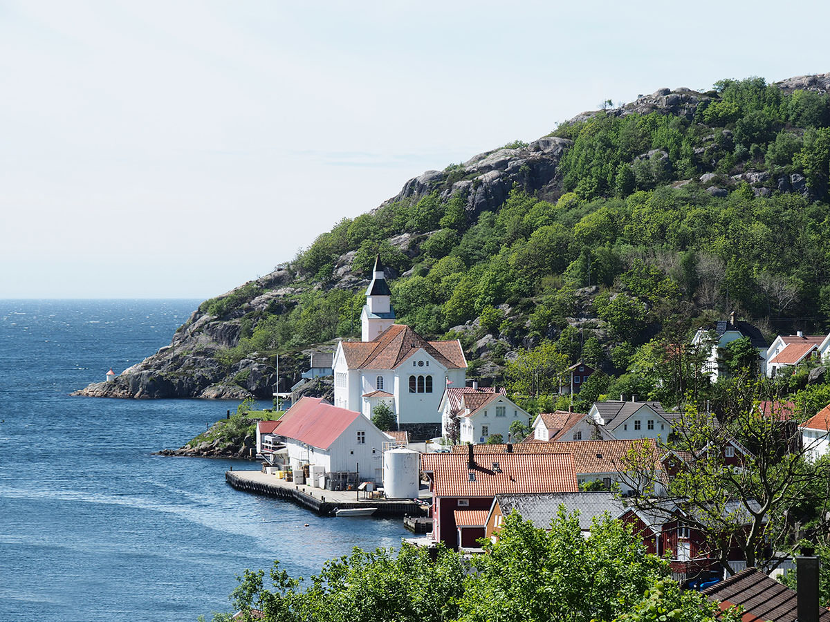 Kirkehamn auf Hidra