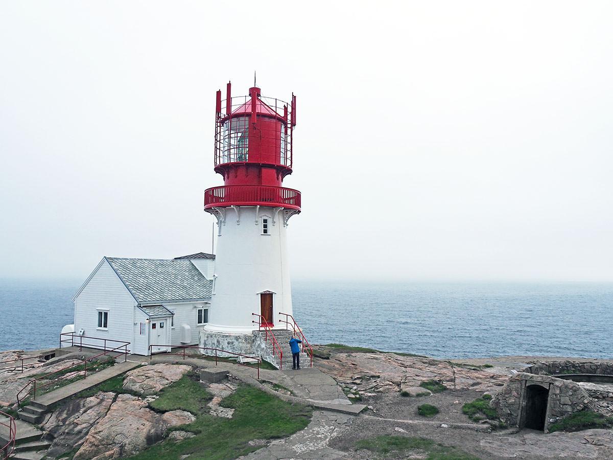 Der Leuchtturm von Lindesnes