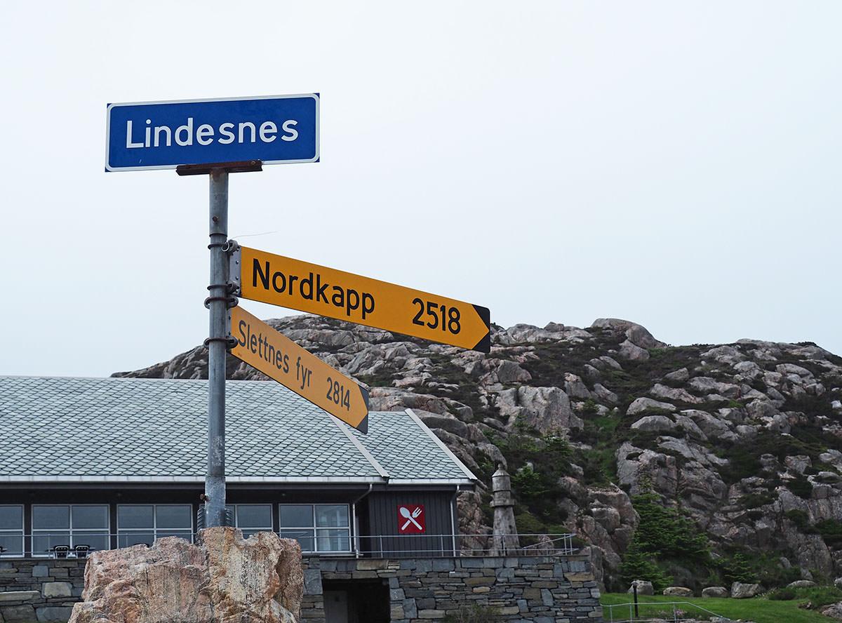 Am südlichsten Punkt Norwegens in Lindesnes