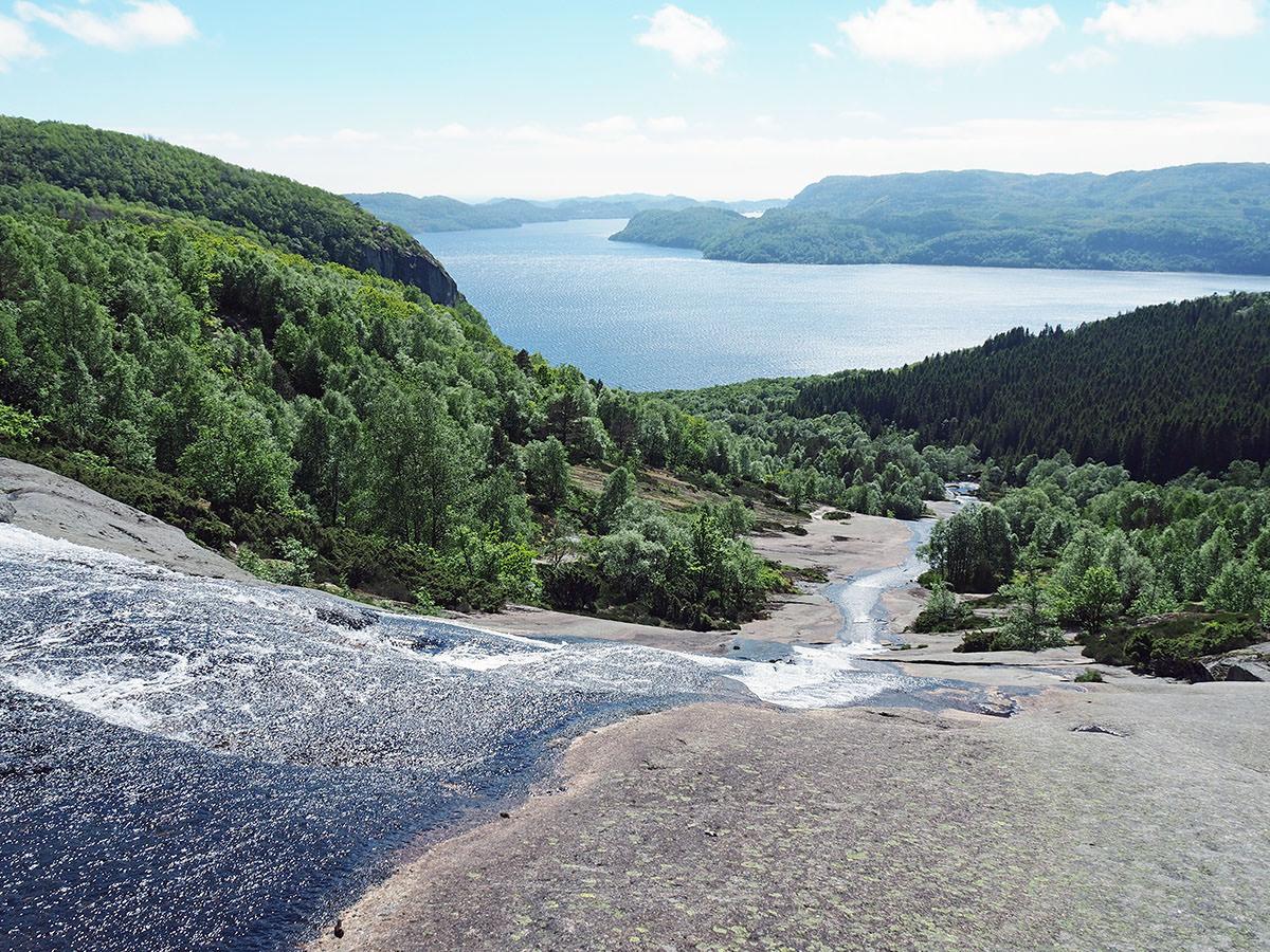 Der Skrelia Wasserfall