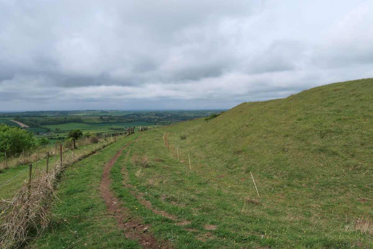 Wandern auf dem South Downs Way