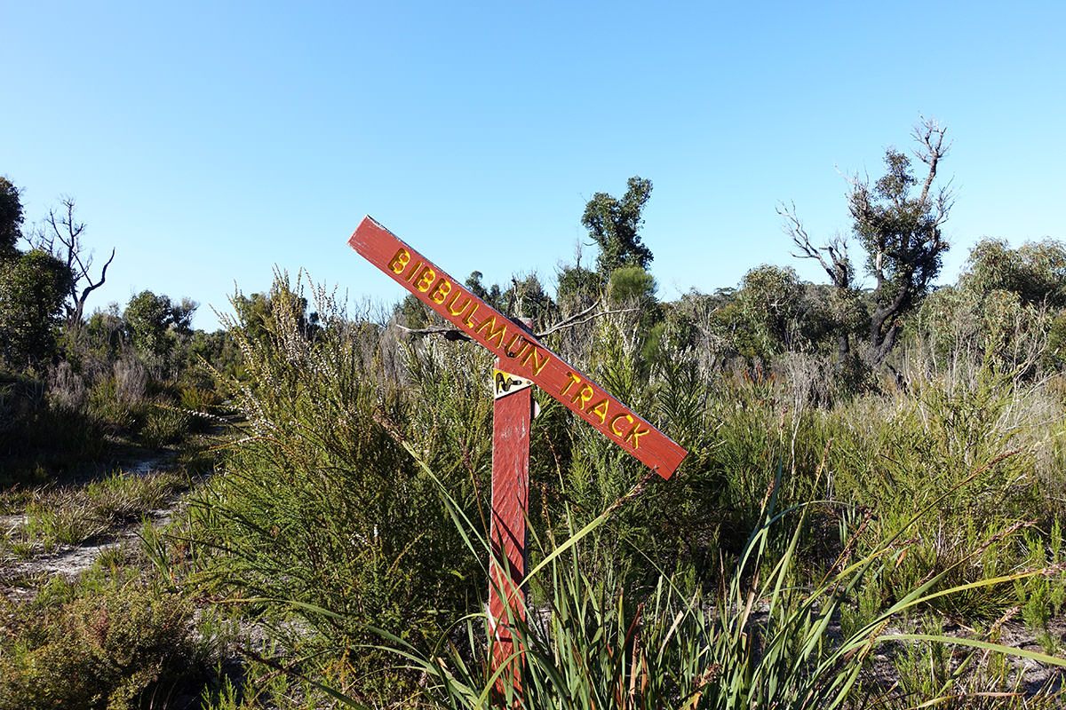 Wegmarkierung Bibbulmun Track