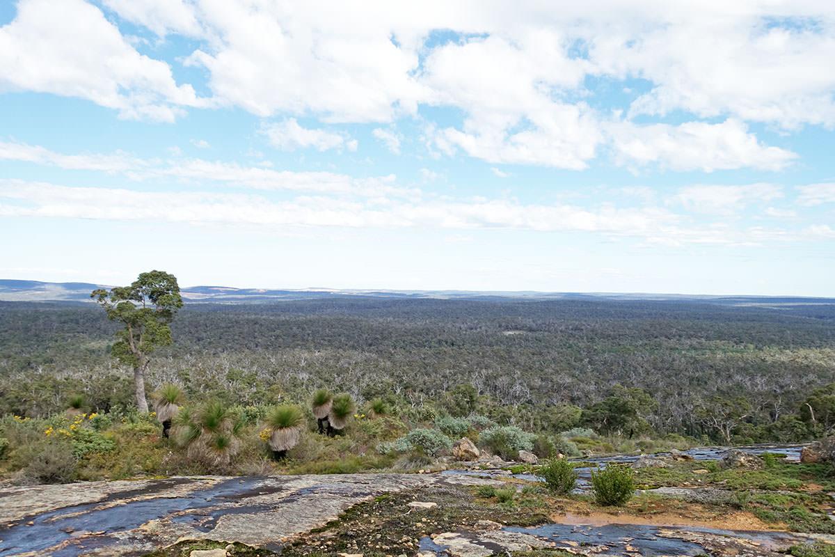 Bergwanderung auf Mount Cooke in Westaustralien