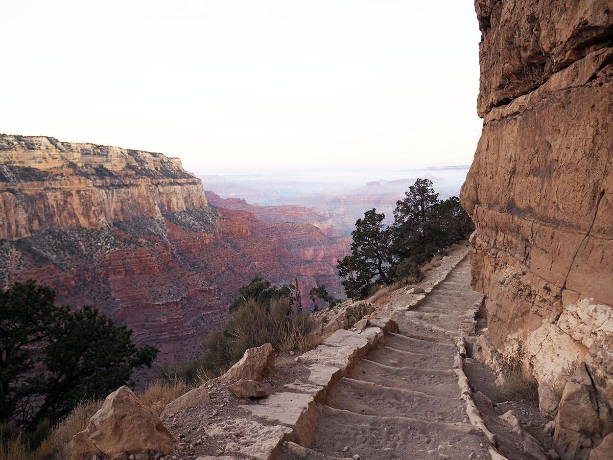 grand canyon an einem tag wandern