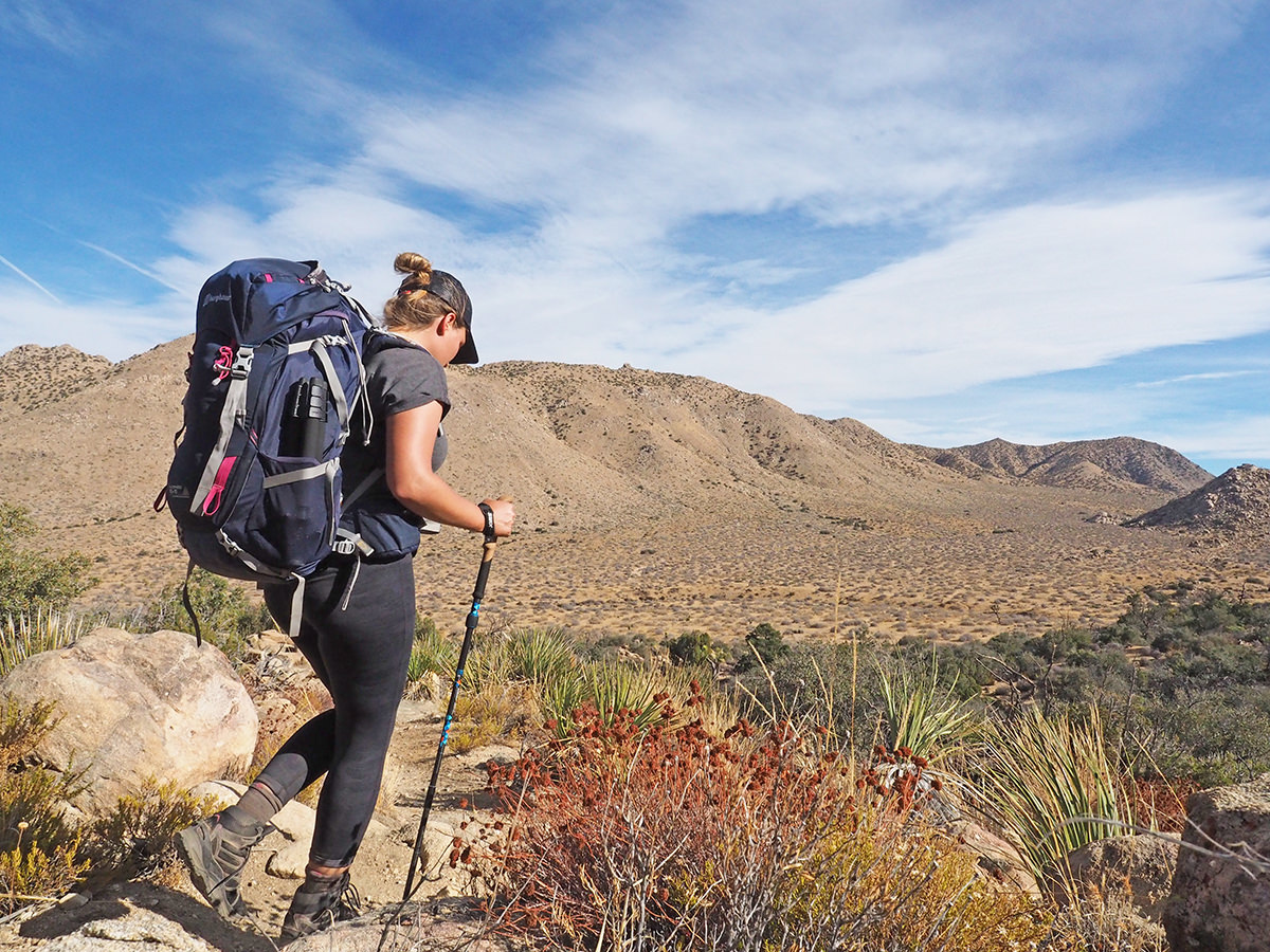 Trekking im Joshua Tree Nationalpark