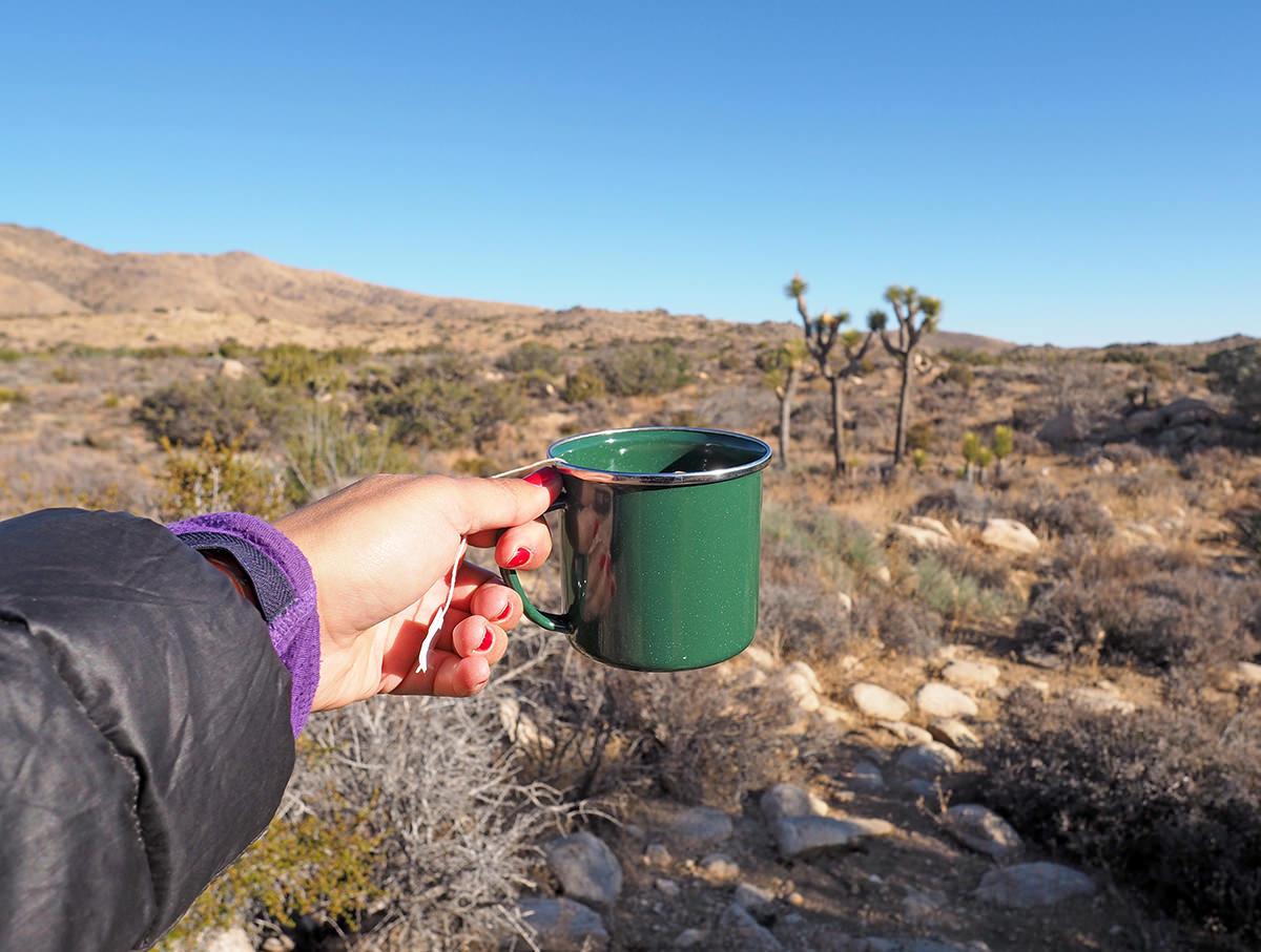 Outdoor Kaffee kochen