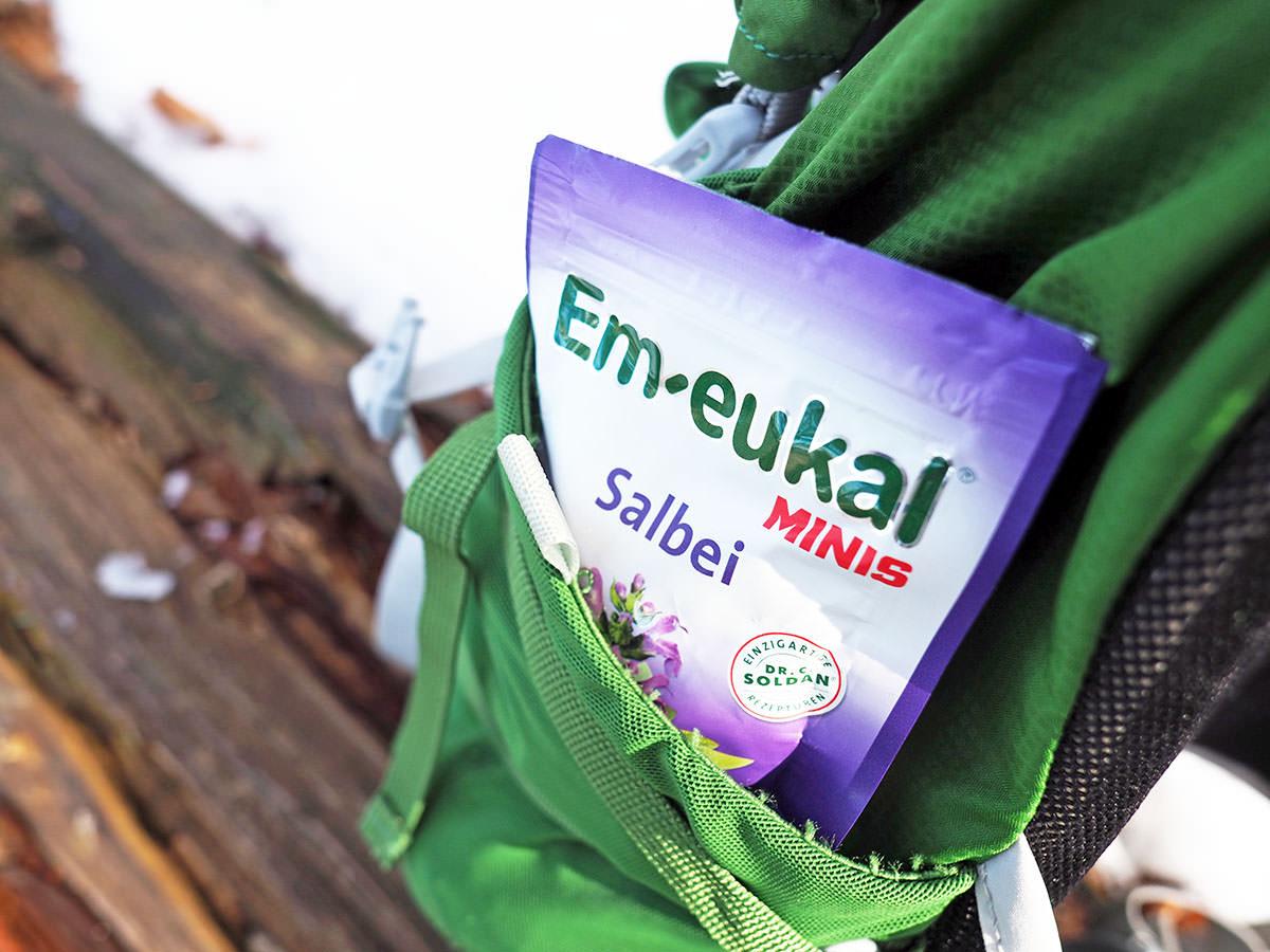 wanderproviant tipps halsbonbon em-eukal