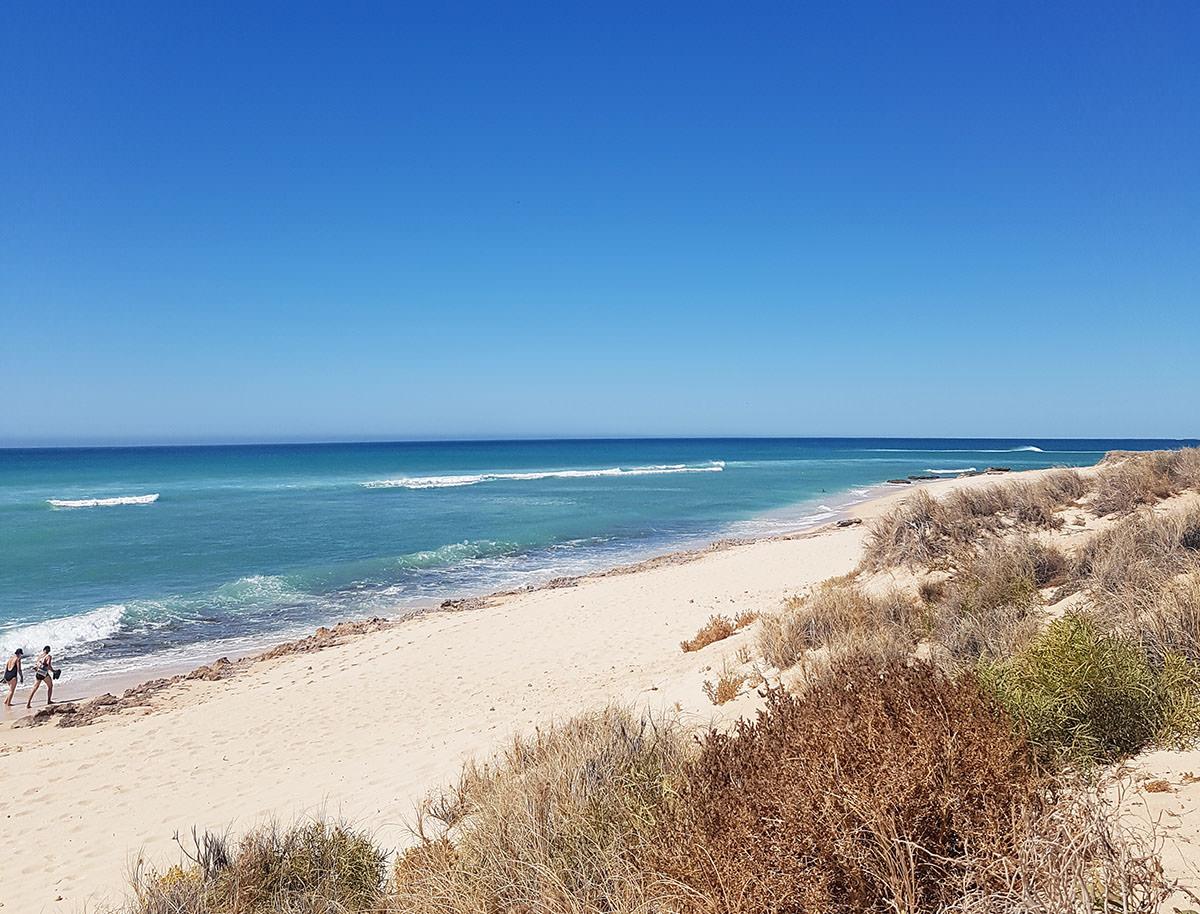 Strand im Cape Range Nationalpark in Westaustralien