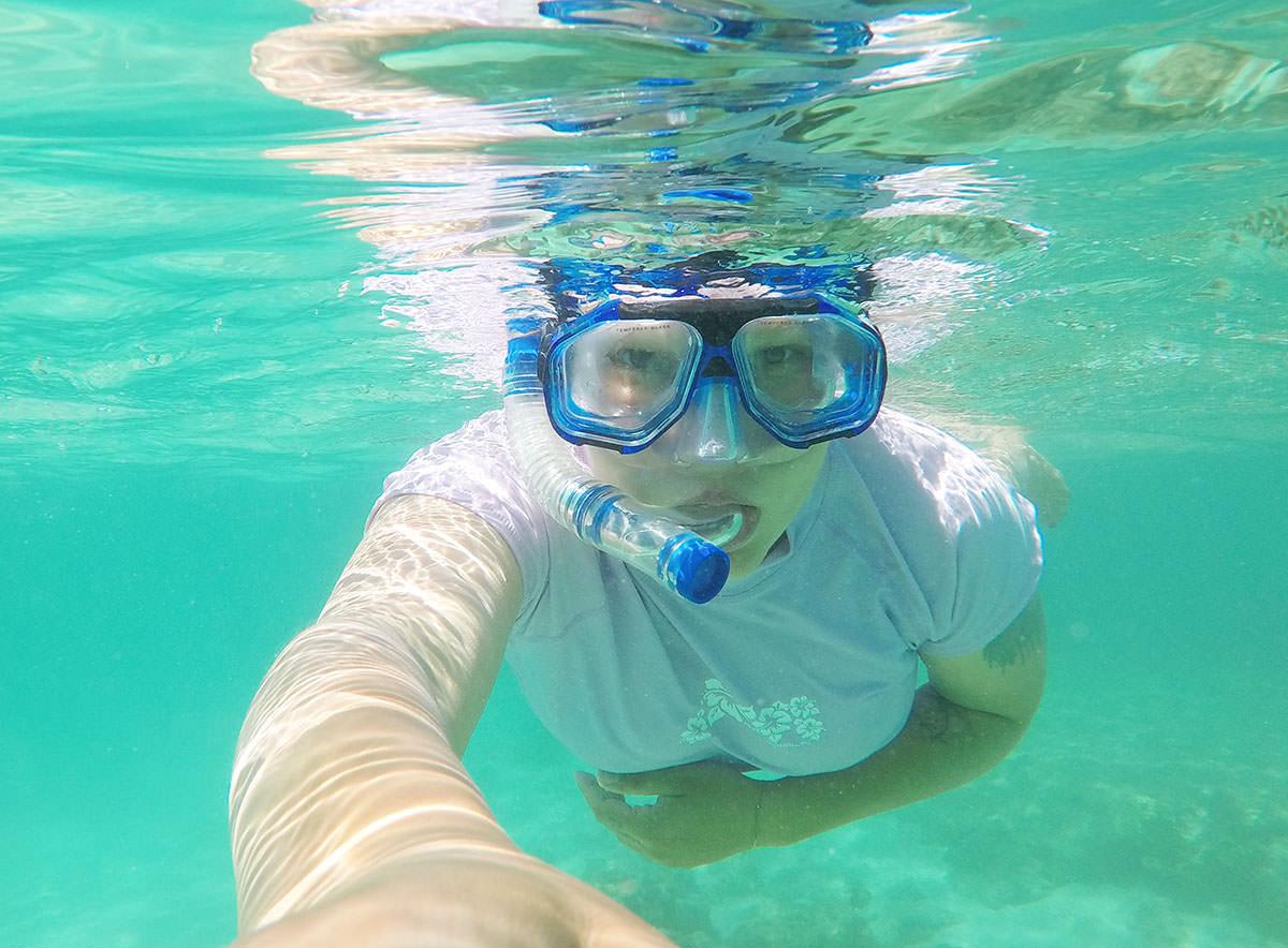 Schnorcheln am Ningaloo Reef in Westaustralien