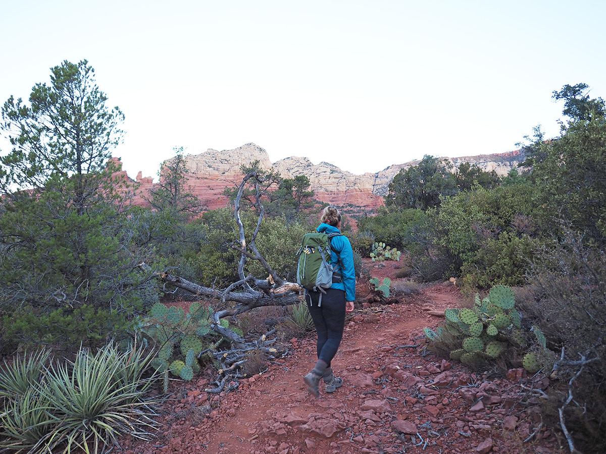 wandern in arizona bei sedona