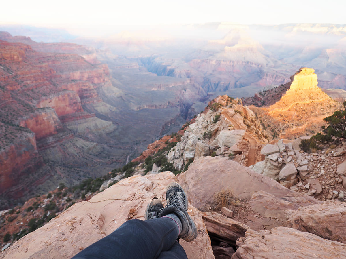 wandern in arizona im grand canyon