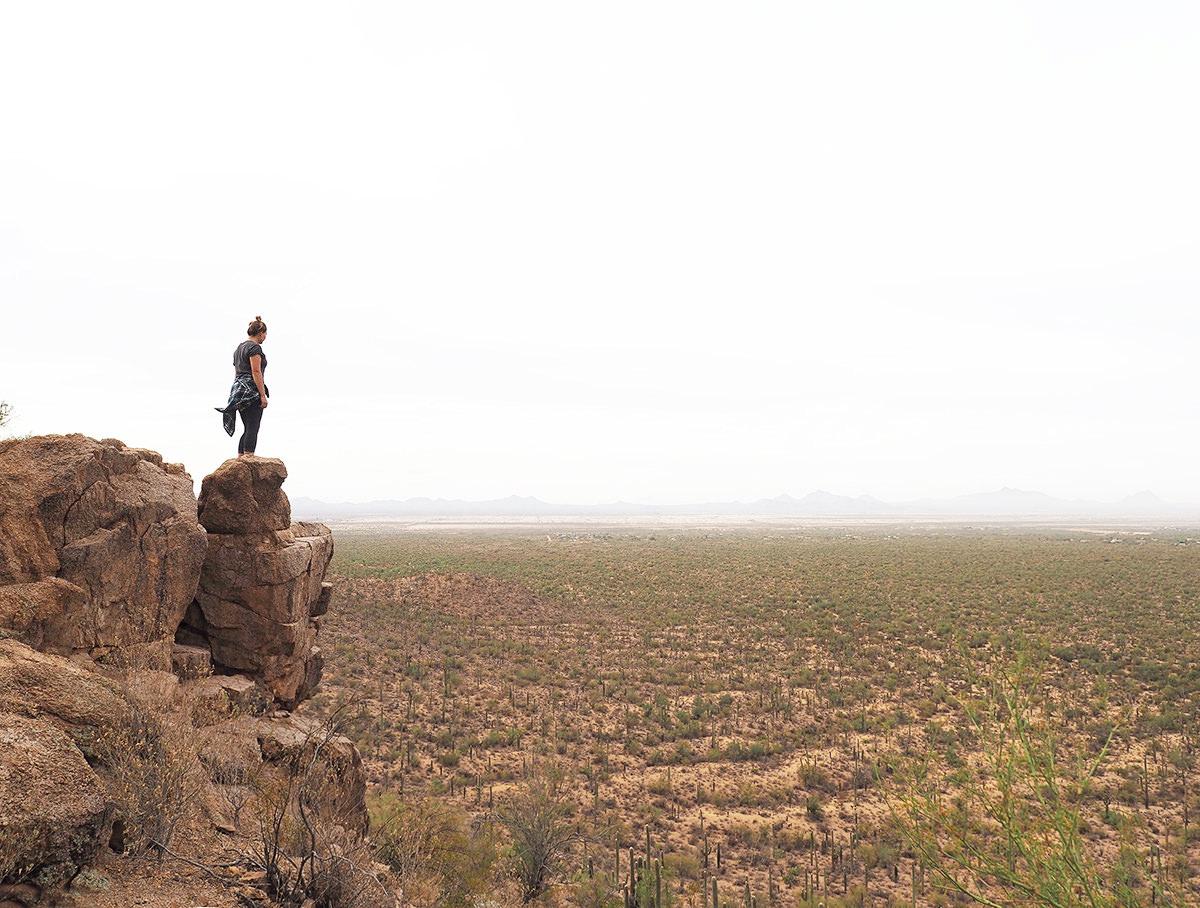 wandern in arizona im saguaro nationalpark