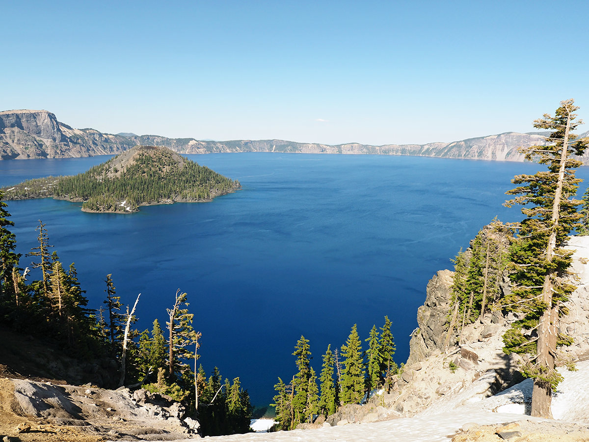 Crater Lake Nationalpark in Oregon