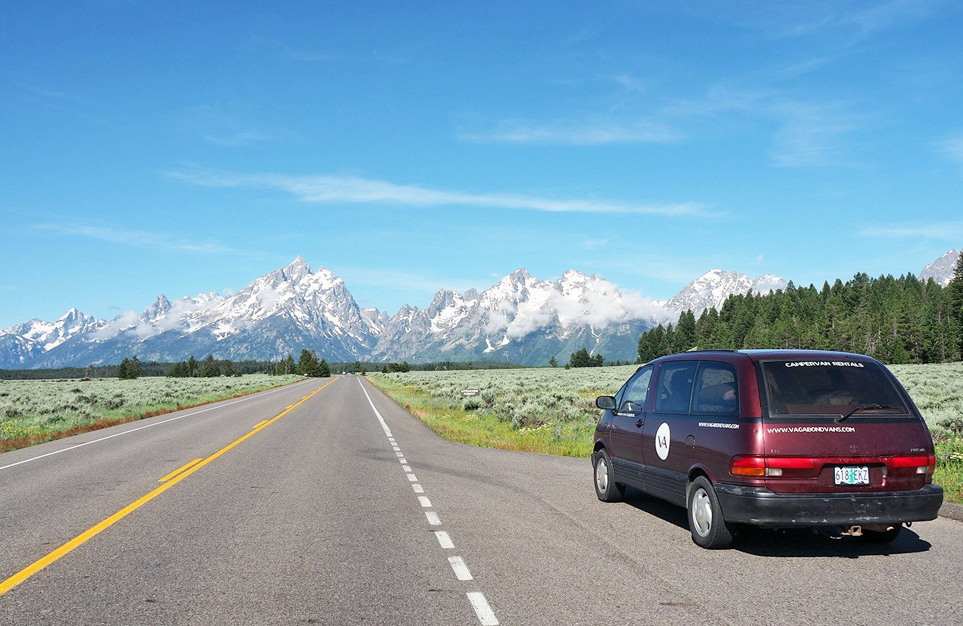 Im Campervan durch den Nordwesten der USA - Roadtrip Route ...