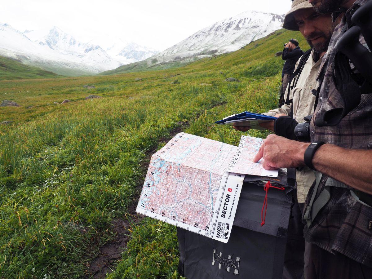 Biosphere Expeditions Kirgistan Schneeleoparden